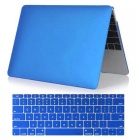 "Mr.northjoe 2-in-1 Protective PC Matte Full Body Case + Keyboard Cover for MACBOOK 12"" - Deep Blue"