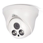 "COTIER 1/3"" CMOS 1.0MP P2P IP-netwerk camera w / 2-IR-LED - wit"