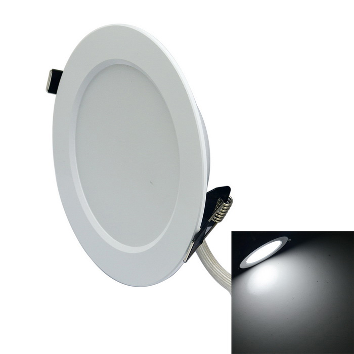 JIAWEN 7W 14-LED Ceiling Light Spotlight 6500K 600lm - White (85~265V)