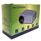 UHAPPY U35 HD home theater LED mini projector w / sd, hdmi, VGA - branco