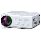 UHAPPY U35 HD Home Theater LED Mini Projector w/ SD / HDMI / VGA / AV / USB - White