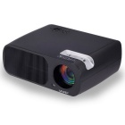 UHAPPY U20 HD Home Theater LED Projector w/ SD / HDMI / VGA / AV / USB - Black