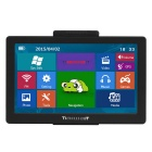 "TiaiwaiT K200 7"" TFT HD Win CE 6.0 Car GPS Navigator w/ FM / 8GB / 256MB DDR / EU Free Map - Black"