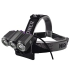 RichFire SF-617 3 x XM-L T6 1000lm 4-Mode Bycicle Headlamp (4 x 18650)