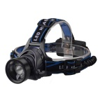 RichFire SF-657 3-Mode 5V USB Telescopic Zoom LED Cool White Headlamp - Black (2 x 18650)