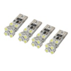 T10 1W Car LED Signal Light Reading Lamp Cool White 25920K 20.14lm SMD 1210 (12V / 4 PCS)