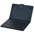 "Bluetooth V3.0 Keyboard PU Case w/ Touchpad for 8~8.9 "" Tablet - Black"