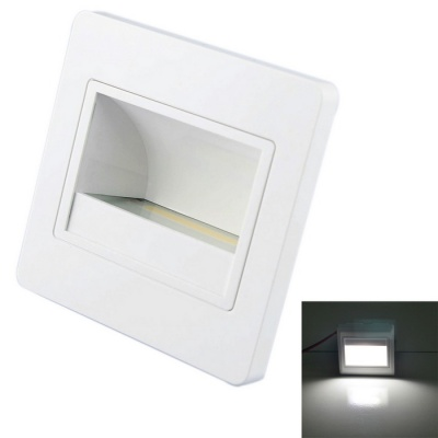 JIAWEN 1.5W Embedded COB LED Footlight / Stair Lamp White 6500K 120lm