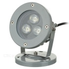 Jiawen Wasserdichte 810LM 9W 3200K LED Warm White Spotlight - Gray (Wechselstrom 85-265V)