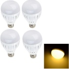 YouOKLight E27 3W LED Glühlampe Warm White 3500K 280lm 6-5730 SMD - Weiß (Wechselstrom 85 ~ 250V / 4PCS)