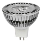 JIAWEN MR16 3W dimmable 3-LED spotlight branco neutro 300lm (dc 12V)