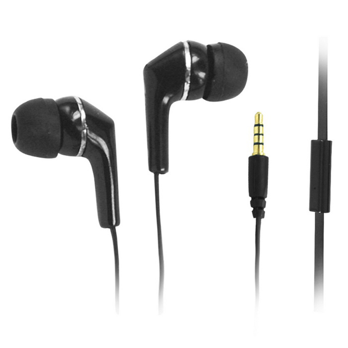 Sinove High Quality 3.5mm Hi-Fi In-Ear Earphone - Black