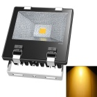 JIAWEN Waterproof Wired 70W LED Floodlight Warm White 3200K - Black