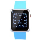 "Atongm W009 Portable 1.44"" Touch Screen Bluetooth V3.0 Smart Watch w/ Pedometer, Alarm Clock - Blue"