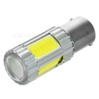 1156 4W 4-COB + XP-E LED-Auto-Licht-kühles Weiß 160lm 7000K - Gelb + Silber + Multicolor (12 V)