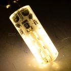 G4 1.5W LED Light Warm White 3000K 100lm 24-SMD 3014 - White (DC 12V)