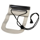 Outdoor PVC Touch Screen Phone Bag Pouch / Waterproof Case - Grey