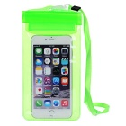 Outdoor PVC Touch Screen Phone Bag Pouch / Waterproof Case for Samsung & IPHONE & More - Green