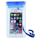 Outdoor PVC Touch Screen Phone Bag Pouch / Waterproof Case for Samsung & IPHONE & More - Blue