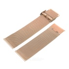 Replacement Grids Stainless Steel Watch Band for APPLE WATCH 42mm - Rose Gold