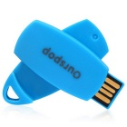 Ourspop OP-3003 Multi-function Flash Drive Memory Disk - Blue (4GB)