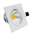JIAWEN 10W dimmable anti-reflejo blanco COB LED luz de techo - blanco