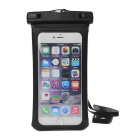 MAIKOU Universal Touch Screen Underwater Phone Bag Pouch / Waterproof Case w/ Bike Mount - Black