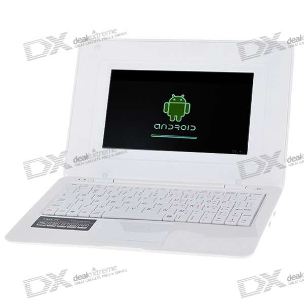 "7"" TFT LCD Google Android 300MHz ARM CPU Netbook (800x480px/2GB Flash Disk/WiFi/USB Host/SD Slot)"
