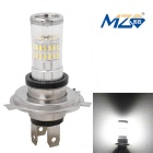 MZ H4 4.8W Car LED Headlamp White Light 6500K 480lm 48-SMD 3014 w/ Constant Current (12~24V)