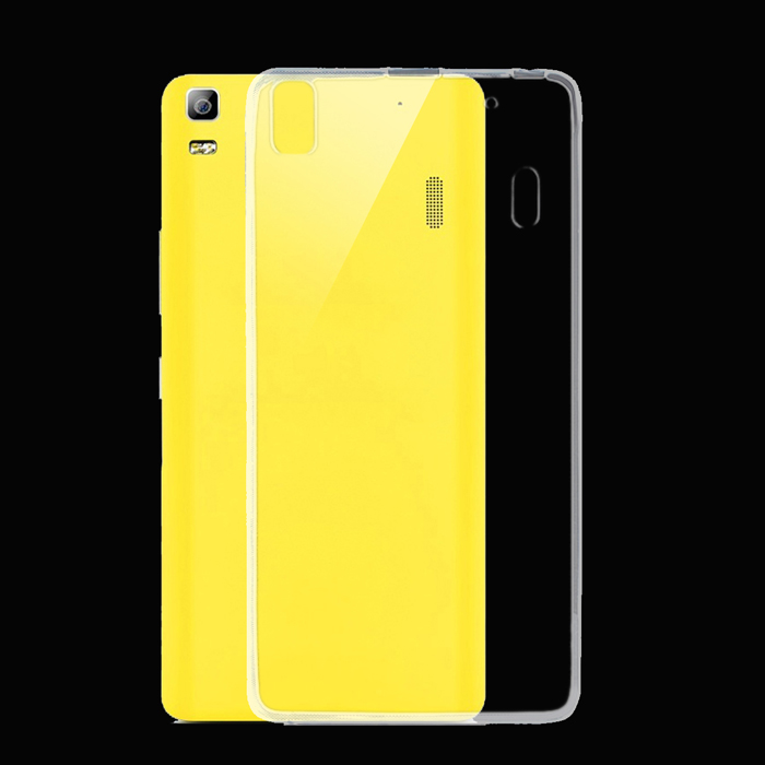 outlet store fd14a f39dd Ultra-thin TPU Back Cover Case for Lenovo K3 Note - Transparent