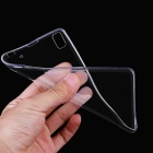Ultra-thin TPU Back Cover Case for Lenovo K3 Note - Transparent