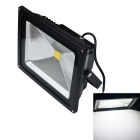 JIAWEN Waterproof 50W COB LED Floodlight White Light 6500K 4200lm - Black (AC 85~265V)