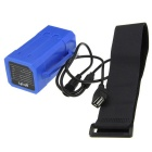 Upgraded 18650 DC/USB Double Connect Battery Case - Dark Blue