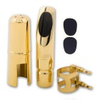 SLADE Premium Alto-Saxophone Mouthpiece + 2 x Mouthpiece Patches Pad for Ligature #7