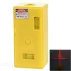 Mini Magnetic Laser Line Level Meter Measuring Instrument - Yellow (3 x AG13)