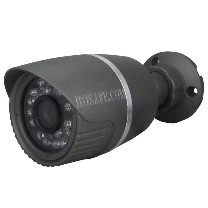 HOSAFE 13MB1G 1.3MP 960P HD IP Camera w/ 24-IR-LED - Black (US Plug)