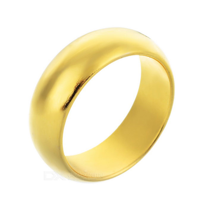 Magic Trick Prop Strong Magnetic Ring - Golden (S)