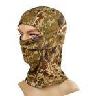 Outdoor Sun-Blocking Windproof Nylon Full Face Mask Headwear for War Game - Desert Camouflage