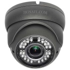 HOSAFE 2MD3G 2.0MP 1080P Dome Outdoor IP Camera w/ 36-IR-LED, POE, ONVIF, Varifocal Lens (US Plug)