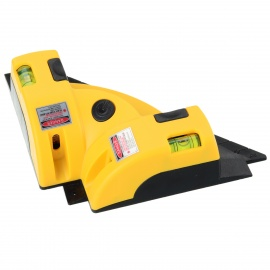 LV-01 90 Degree Right Angle Laser Level w/ Suction Cups (3*AA)