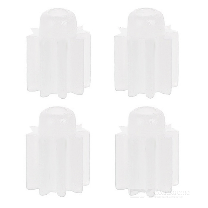 Replacement R/C Aircraft Parts ABS Motor Gears Set for Syma X5 - White