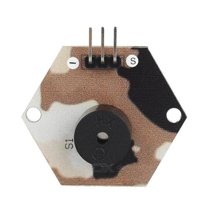 DIY Electromagnetic Passive Buzzer Module for Arduino - Camouflage