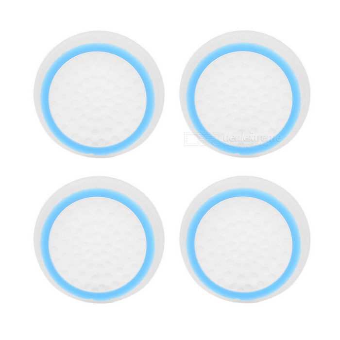 Silicone Gamepad Thumb Stick Grips Caps for PS4, PS3, XBOXone - Blue