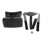Headband 3D Virtual Reality Viewing Glasses for Smartphones - Black