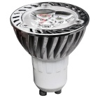 JIAWEN GU10 3W Dimmable LED Spotlight Cold White - Silver (85~265V)