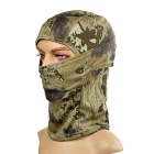 Outdoor Sun-Blocking Full Face Mask Headwear for War Game - Camouflage