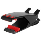 Creative Hippo Mouth Style Adjustable Car Mount Stand Holder for GPS / Cellphone - Black + Red