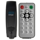 USB 2.0 NTSC / PAL / SECAM Analog-TV-Stick w / FM - Schwarz