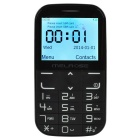 "MELROSE I310+ GSM Phone w/ 2.31"" LCD, Dual SIM, FM, SOS, Bluetooth, Wireless Charging - Black"