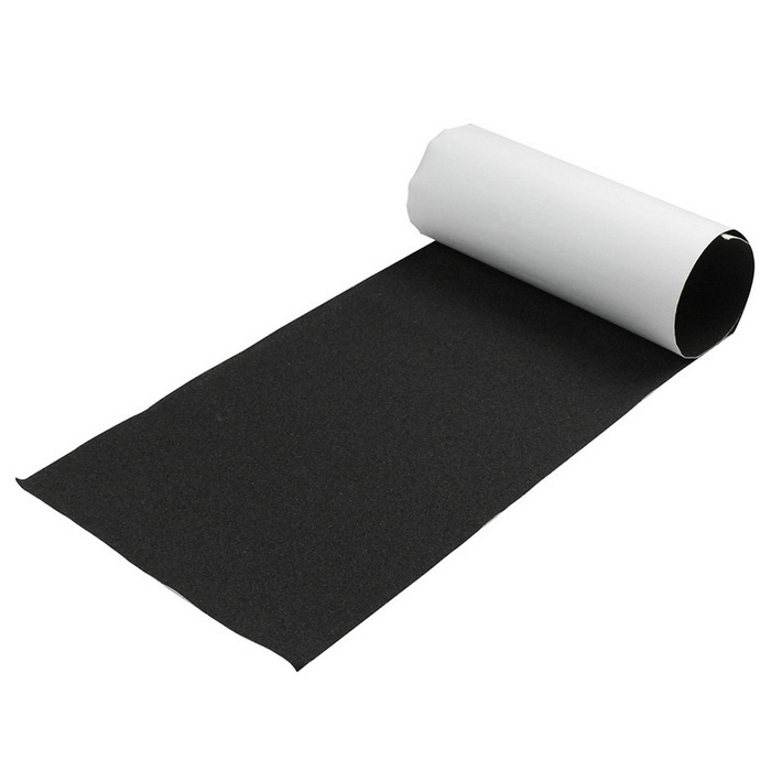Professional Water-Proof Grip Tape for Skateboard - Black